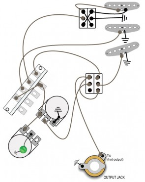 Strat Mod 1 (Out of Phase and Bridge Override) - Music and ...